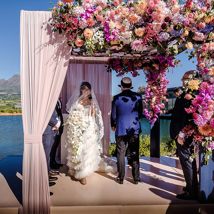Jewish wedding at the Cavalli Estate Cape Town, South Africa_0015