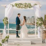 A Sassi Holford Bride for a Scottish-Jewish Wedding at Bait al Hayam, Tel Aviv, Israel