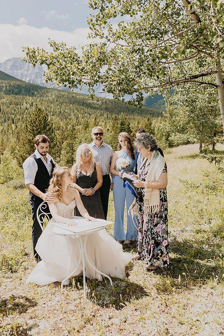 Jewish wedding Pomeroy Delta Kananaskis Hotel, Alberta, Canada