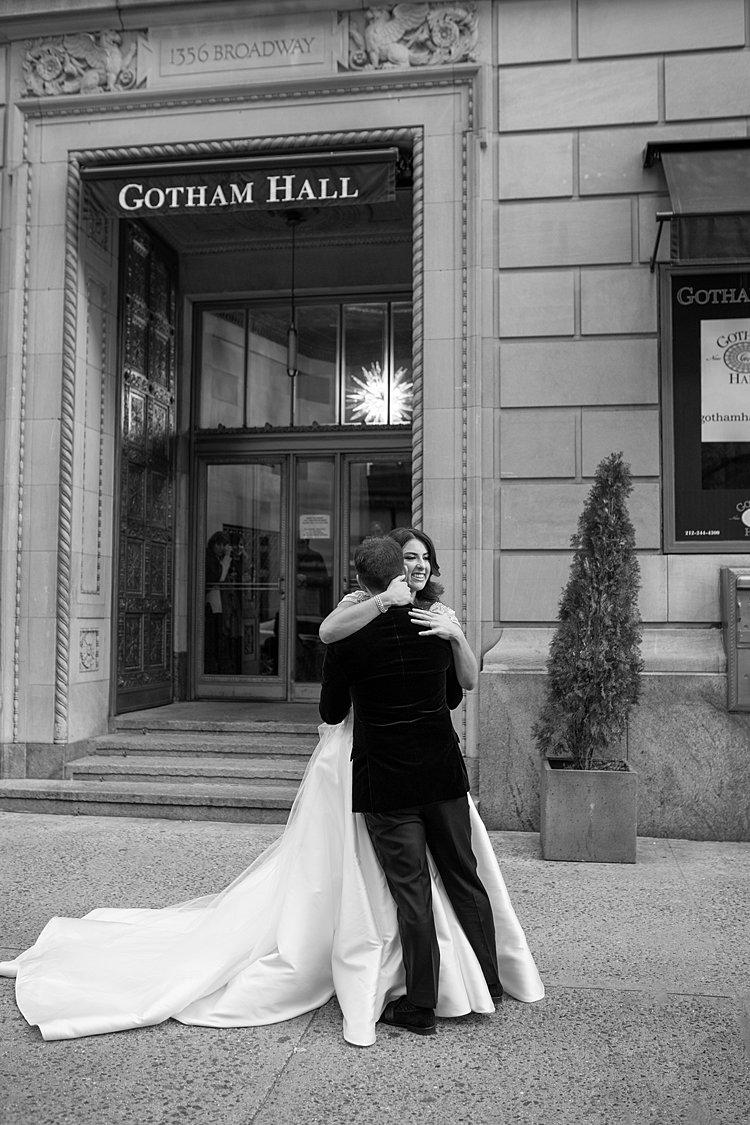 Jewish wedding Gotham Hall New York USA_0011