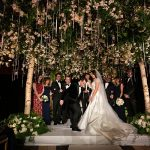 A Reem Acra Bride for an Enchanted Forest Jewish Wedding at Gotham Hall, New York City, USA