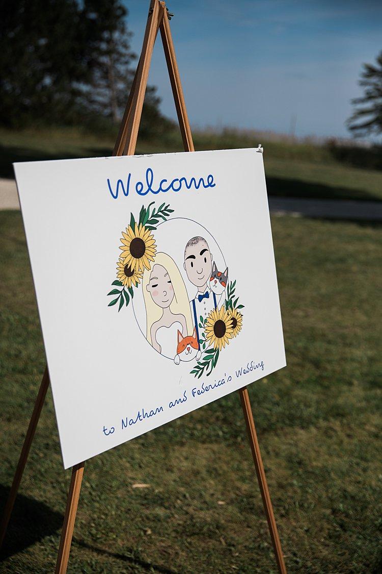 vvJewish wedding rustic DIY budget groom's parents' backyard Door County, WI, USA_0070