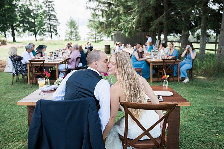 A David S Bride For A Rustic Diy Backyard Jewish Wedding On