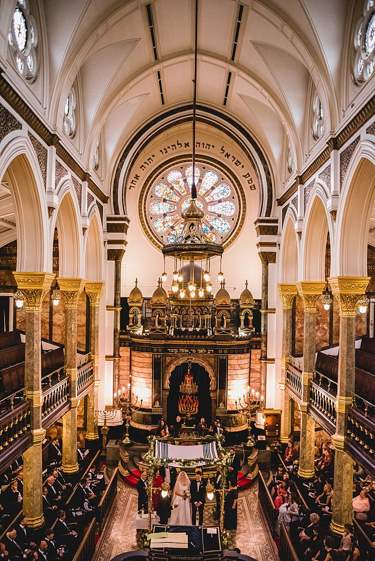 New West End Synagogue and One Marylebone, London, UK