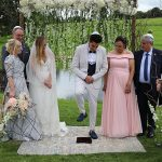 A Flora Bride for a Fairy Tale Destination Jewish Wedding at Cluny Castle, Inverurie, Aberdeenshire Scotland, UK