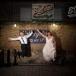 A Mary Poppins-Themed Jewish Wedding at Bevis Marks and Behind the Bike Shed, London, UK
