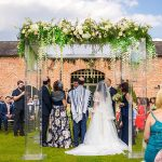 A Riki Dalal Bride for a Wedding Planner's Own Jewish Wedding at Merrydale Manor, Knutsford, Cheshire, UK
