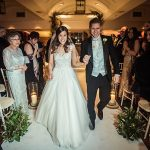 A Sassi Holford Bride for a Glitzy Winter Jewish Wedding at The Brewery, London, UK