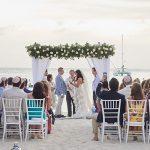A Lee Petra Grebenau Bride for an Intimate Destination Jewish Beach Wedding Weekend at Aruba Marriot Resort and Stellaris Casino, Aruba