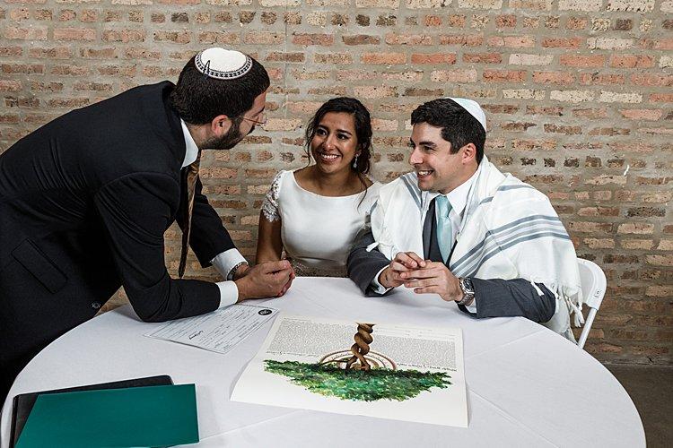 Jewish wedding The Shapiro Ballroom in Chicago, IL USA_0003