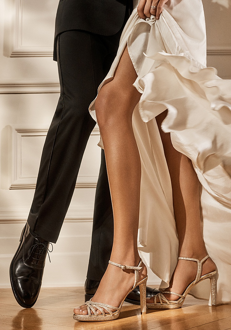 The Latest Jimmy Choo Bridal Collection Will Sweep You Off Your Feet Smashing The Glass Jewish Wedding Blog