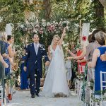 A Suzanne Neville Bride for a Fantastically Floral Jewish Wedding at Hacienda del Alamo, Malaga, Spain