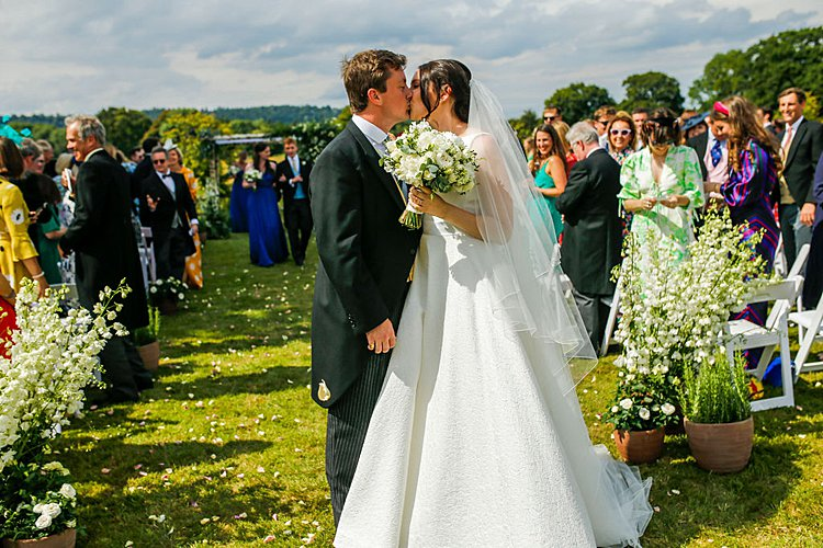Sassi Holford Bride High Billinghurst Farm Wedding