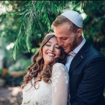 A David's Bride for a Nature Lovers' Jewish Wedding at Ramat Rachel, Jerusalem, Israel