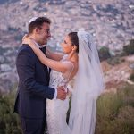 A Millanova Bride for a Destination Jewish Wedding with a View at Olmaya, Jerusalem, Israel