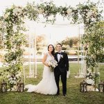 An Outdoor Jewish Wedding at Texas Discovery Gardens and Butterfly House, Dallas, Texas, USA