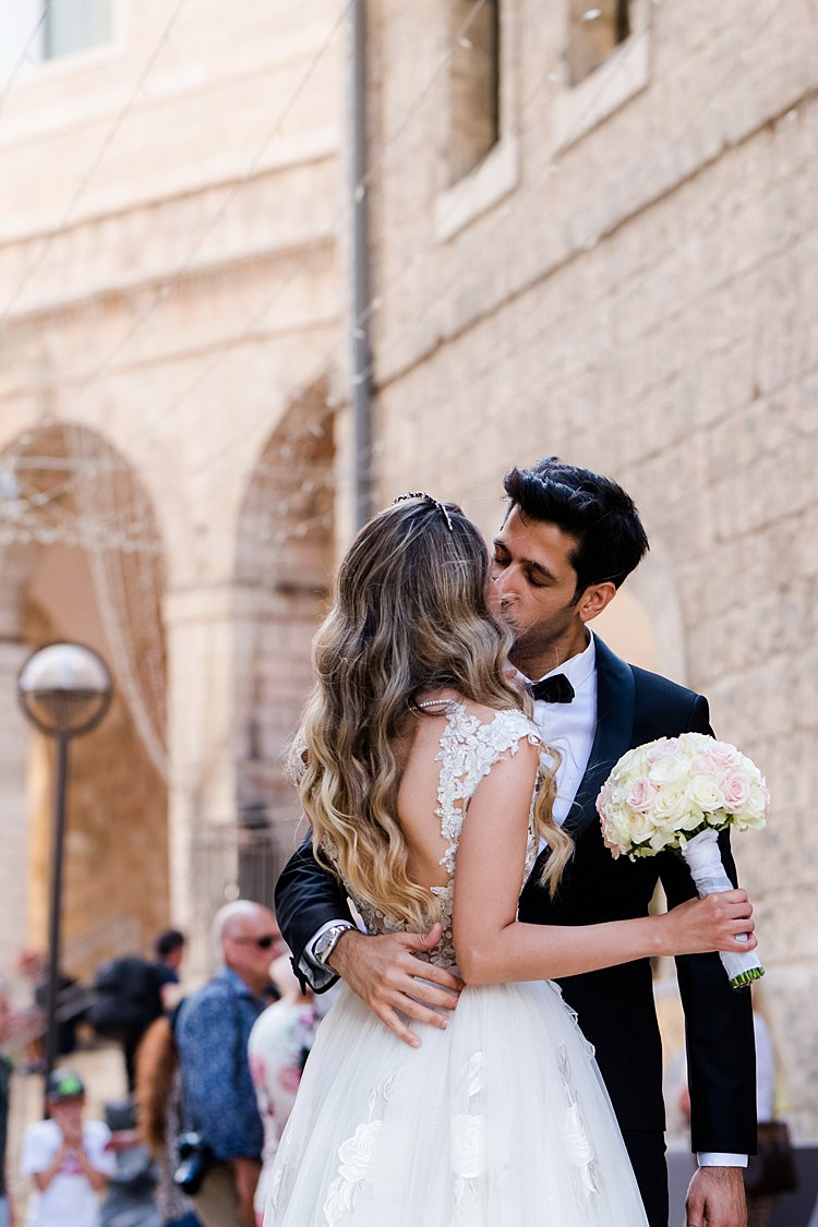 Sapir and Steve, David Citadel Hotel, Jerusalem