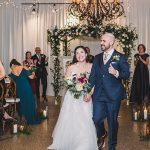 An Allison Webb Bride for an Industrial Rustic Jewish Wedding at The Venue, Asheville, North Carolina
