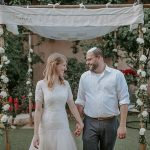 A Backyard Jewish Micro Corona Wedding in Katamon, Jerusalem, Israel