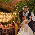 A Pronovias Bride for an Elegant Rustic Israel-Meets-Tuscany Jewish Wedding at Achuza Beit Hanan, Israel