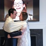 A Love-Filled Micro Jewish Zoom Corona Wedding at the Brides' Parents Home in Westport, Connecticut, USA