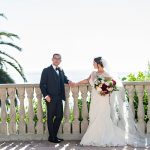 A Romona Keveza Bride for an Indian-Jewish Wedding at Bel Air Bay Club, Los Angeles, CA
