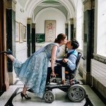 A BHLDN Bride for an Interabled Couple's Ultra-Personal Egalitarian Jewish Wedding at Finsbury Old Town Hall, London, UK
