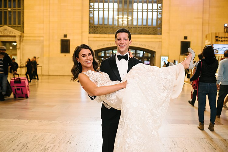 Julia and Max, Cipriani 42nd Street in Manhattan, NY