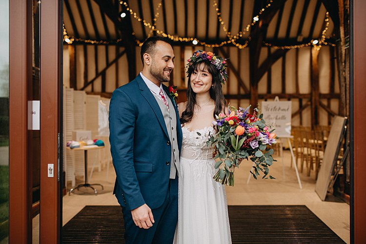 Rachelle-and-Elan-Great-Barn-at-Headstone-Manor-UK