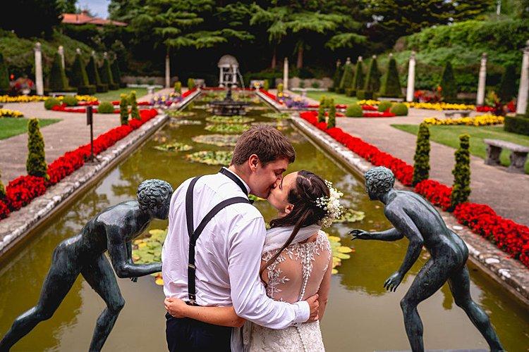 Sarah-Jayne and Emile, The Italian Villa, UK
