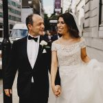 A Reem Acra Bride for an Ultra-Personal Jewish Wedding at St John's Wood Synagogue and the Grand Connaught Rooms, London, UK