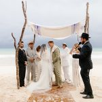 An Allison Webb Bride for a Beachy Destination Jewish Wedding at Ana y José Hotel in Tulum, Mexico