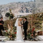 A Willowby by Watters Bride for a Reimagined Jewish Micro Wedding at a Private Airbnb in Malibu, California, USA
