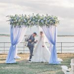 Bringing the Hamptons to the UK: Jewish Wedding Inspo on Osea Island