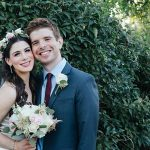 Two Broadway Performers' Jewish Backyard Micro Wedding in Plainview, New York, USA