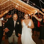 An Eddy K. Bride for a Jewish Interfaith Backyard Micro Wedding in Connecticut, USA