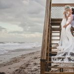 A Beachy Same-Sex Jewish Wedding at Harbour House Oceanfront Venue, Indian Harbour Shores, Florida, USA