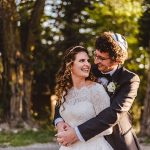 A Magical Rustic Jewish Micro Wedding in the Forest at San Moritz Lodge, Crestline, California, USA