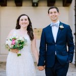 A Pronovias Bride for a Backyard Jewish Micro Wedding in Santa Barbara, California, USA