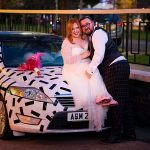 A Willowby by Watters Bride for an Artsy Jewish Micro Wedding at Kinloss Synagogue and The Manor Elstree, UK