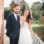 A Maggie Sottero Bride for a Jewish Micro Wedding at St Michael's Manor, St Albans, UK