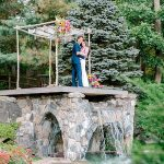 A Magic Secret Garden Backyard Jewish Micro Wedding in Chappaqua, New York, USA
