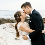 A Kelly Faetanini Bride for a Rustic Romantic Oceanview Jewish Wedding at Seacoast Science Center, New Hampshire, USA