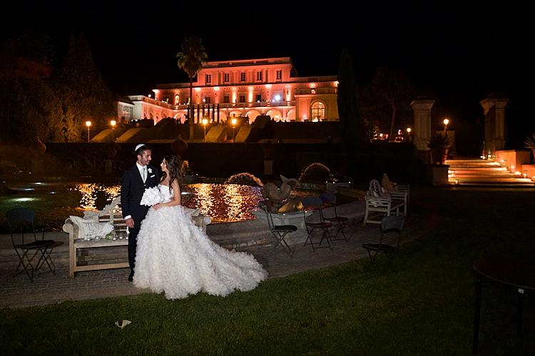 Diletta and Stefano, Villa Miani, Rome, Italy