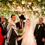 A Riki Dalal Bride for a Fabulously Floral Jewish Wedding at The Langham, London, UK