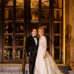 A Valentini Spose Bride for a Candlelit Winter Jewish Micro Wedding at the Kimpton Fitzroy London, London, UK