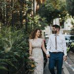 A Mordehai Avraham Bride for a Last-Minute Jewish Wedding at Ohel Moed, Tel Aviv, Israel