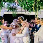 A Galia Lahav Bride for a Tropical Jewish Wedding at Casali Del Pino, Rome, Italy