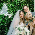A Stella York Bride for a Dog-Friendly Jewish Wedding at Five Crowns, Corona Del Mar, California, USA