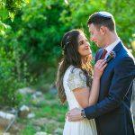 A Michal Taylor Bride for a Colorful Jewish Wedding at Bezzela Hahar, Machasiya, Jerusalem, Israel